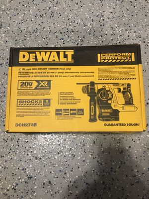 "Dewalt 1"" sds brushless hammer drill TOOL ONLY for Sale in Lemont, IL"