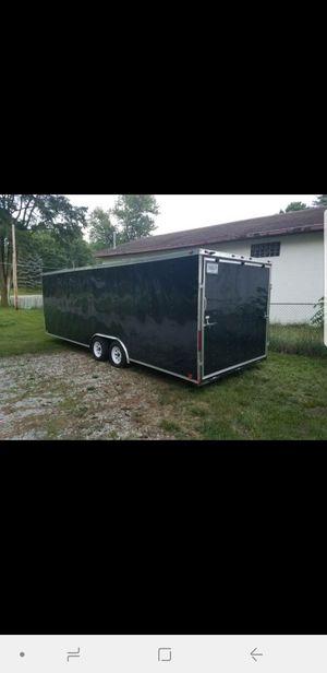2017 8.5 x 24 enclosed trailer for Sale in La Porte, IN