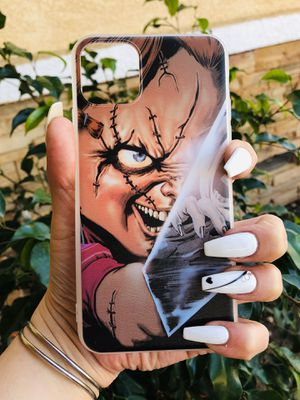 Brand new cool iphone 11 PRO MAX case cover phone case rubber chucky horror mens mens guys hypebeast hypebae womens girls hype swag for Sale in San Bernardino, CA