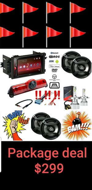 Car audio Package deal 😄😄😄😄 for Sale in San Diego, CA