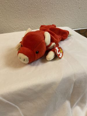 Ty Beanie Baby Snort Bull for Sale in Sacramento, CA