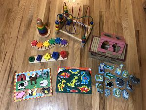 Melissa and Doug Wooden Toy Lot for Sale in Seattle, WA