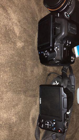 Sony Alpha 390/ Canon Powershot SX510 HS for Sale in Cibolo, TX