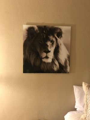 Glass lion photo for Sale in San Diego, CA