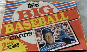 1-Topps BIG Baseball Cards 2nd Series NEW. 1-Topps BIG Baseball Cards 3rd Series NEW for Sale in Peoria, AZ