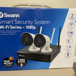 Smart Security System Wi-if Series 1080p for Sale in San Jose, CA