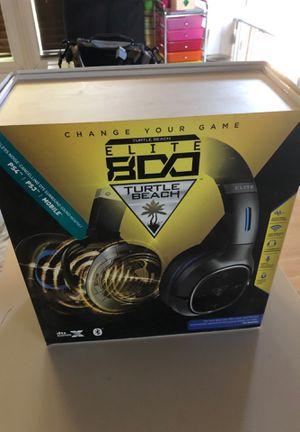 Turtle beach elite 800 headset for Sale in Avondale, AZ