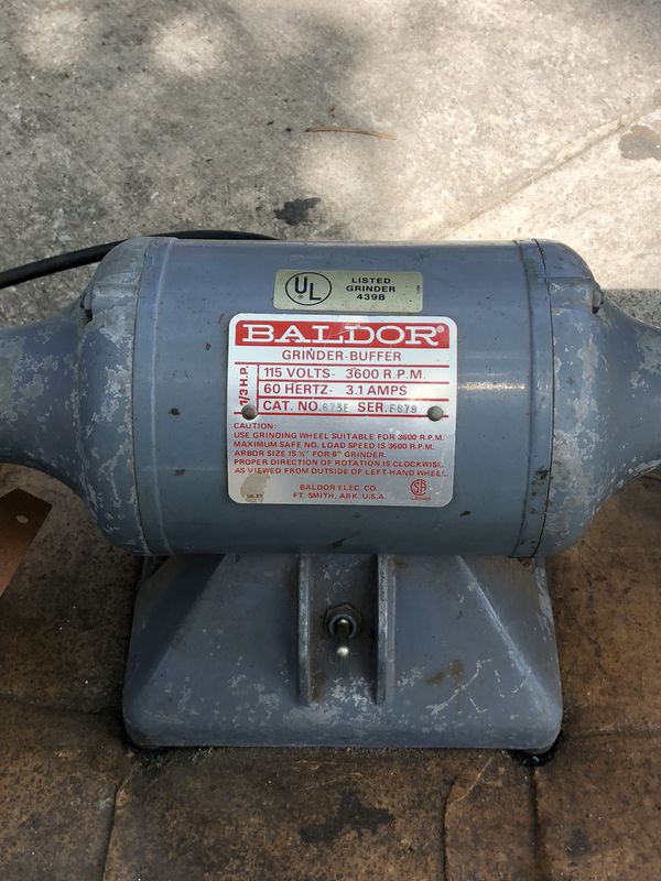 Outstanding Baldor 673E Grinder Buffer For Sale In Garland Tx Offerup Pdpeps Interior Chair Design Pdpepsorg