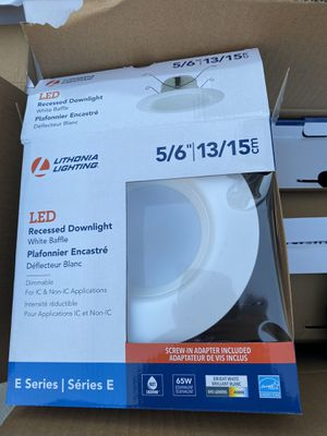 9 FREE- LED can light retrofit kits for Sale in La Grange Park, IL