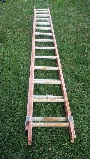 28 fiber glass ladder $295 cash. for Sale in Mount Rainier, MD