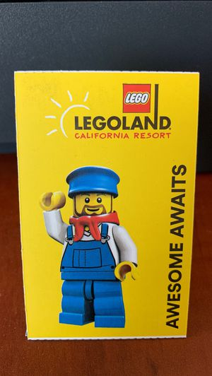 4 LEGOLAND TICKETS for Sale in San Diego, CA