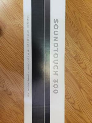 Bose surround sound. Soundouch 300 new in box speaker for Sale in Kaiser, MO