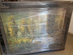 Big frame w picture for Sale in Phoenix, AZ