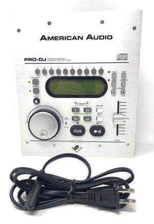 American Audio Pro-DJ Compact Disc Digital Audio Professional Single CD Player for Sale in Scottsdale, AZ