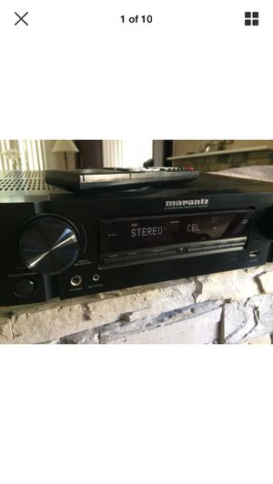 Marantz nr1403 receiver With remote for Sale in Rancho Santa Margarita, CA