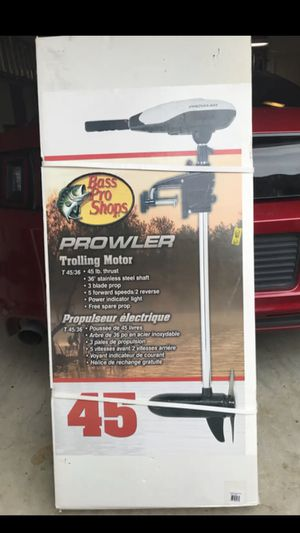 Brand New Prowler 45 Trolling Motor for Sale in Plano, TX
