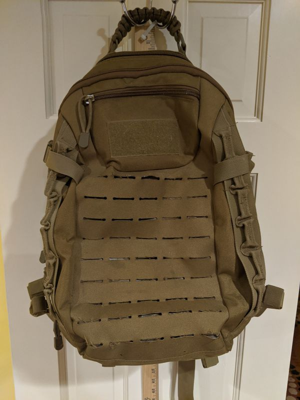Tactical Backpack Army Military Daypack Hiking Trekking Camping