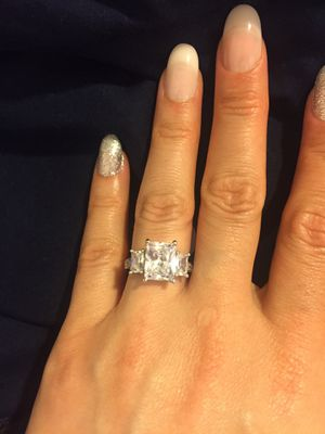 Stamped 925 Sterling Silver Ring- Code 3D100 for Sale in Dallas, TX