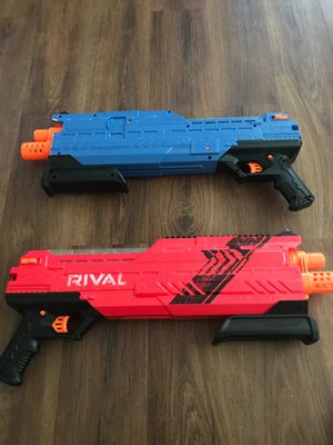 Nerf rival toy guns for Sale in Huntington Beach, CA