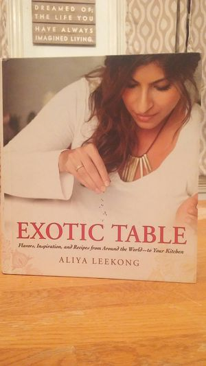 Exotic Table by Aliya Leekong for Sale in Milton, PA