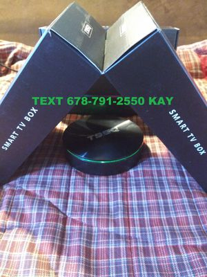 Mega Android 4K Ultra HD TV Box! Colorful LED lights with discus design! Twice the speed of a stick! HDR Ready! for Sale in Ellenwood, GA
