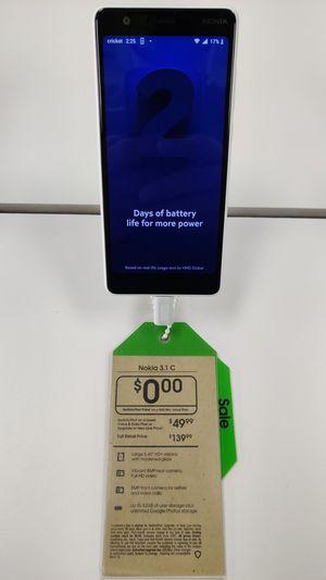 Nokia 3.1 C for Sale in Traverse City, MI