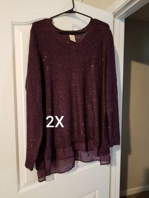 2x shirt for Sale in Murfreesboro, TN