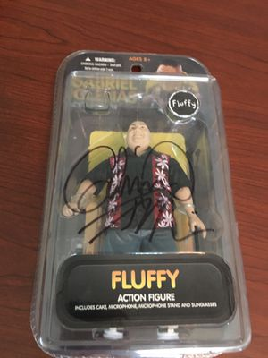 "Gabriel Iglesias ""Fluffy"" Signed Autographed Action Figure for Sale in Jurupa Valley, CA"