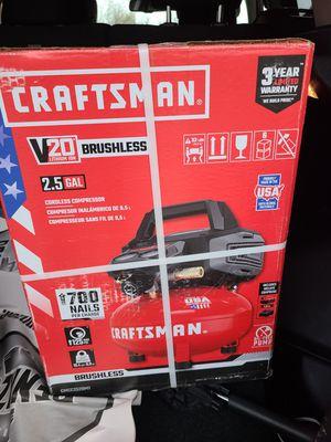 Craftsman Cordless Brushless Air Compressor for Sale in Kernersville, NC