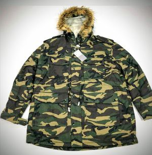 Men's Camoflauge Fleece Lining New With Tags for Sale in Bridgeport, PA