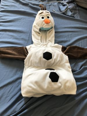 Olaf Halloween costume size 2 for Sale in Los Angeles, CA