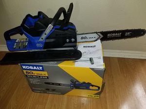 80v Kobalt 2nd Gen Chainsaw for Sale in San Antonio, TX