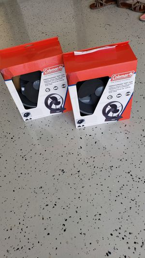 2 Coleman Camping Tent Fans for Sale in Austin, TX
