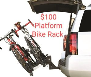 Bike Rack Platform Style For Hitch Receiver for Sale in Stanton,  CA
