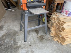 Tool stand from ridgid planer for Sale in Manchester, PA