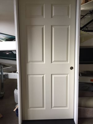 Garage Man Door 3.0 2.6 construction open fire rated rated. New! $280 for Sale in Vancouver, WA