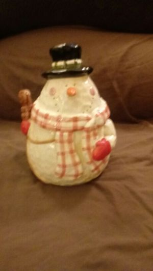Snowman Cookie Jar for Sale in OH, US