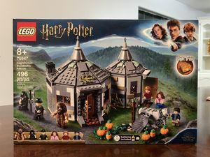 LEGO Harry Potter Harris's Hut: Buckbeak's Set with Hippogriff Figure 75947 for Sale in Pharr, TX