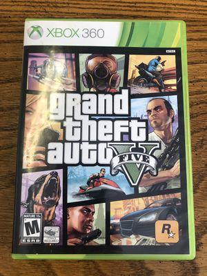 Grand Theft Auto GTA 5 Xbox 360 Complete for Sale in Traverse City, MI