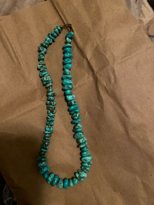 Turquoise necklace for Sale in Hialeah, FL