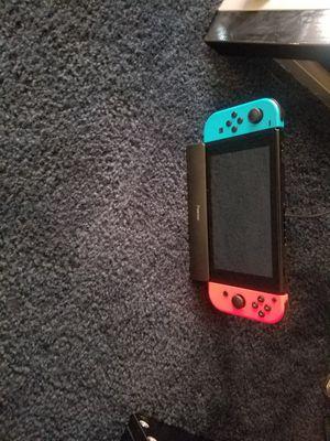 Nintendo switch con juego de super mario odyssey for Sale in Wasco, CA