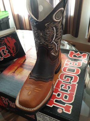 Botas de piel de México cómodas para trabajar for Sale in San Jacinto, CA