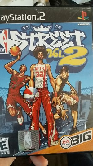PS2 Street Vol. 2 NBA for Sale in Los Angeles, CA