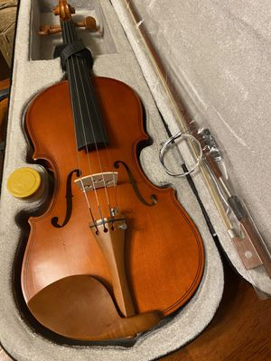 4/4 Full Size Violin with New Bow, Extra Strings, Rosin $80 Firm for Sale in Arlington, TX