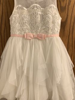 Girl Dress (Flower Girl/Easter)- Size 4T (Worn Once) for Sale in Tacoma,  WA