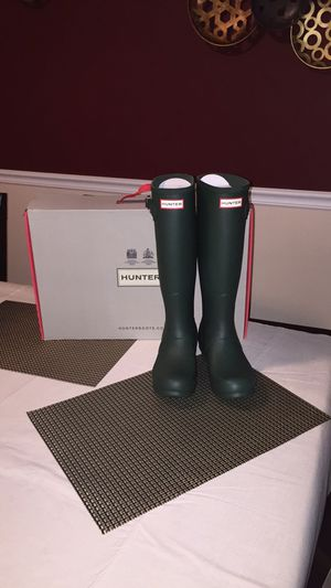 Hunter Boots Green Sz 7 & 8 available for Sale in Westchester, IL