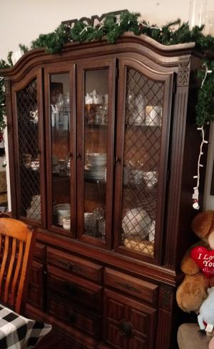 Antique China Cabinet/ table for Sale in Pflugerville, TX