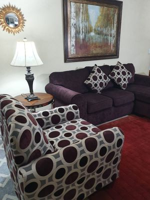 Section couch with chair for Sale in Alpharetta, GA