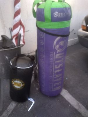 Martial arts boxing heavy and small punching bags for Sale in Millbrae, CA