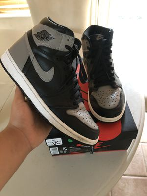 Jordan 1 Shadow size 8.5 used with box for Sale in Houston, TX